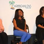 (l-r) Joan Graves-MPAA-CARA; Nne Ebong-ABC TV Drama & Francesca Harewood-NBCUniversal Business Affairs (Photo Credit - Michael Brown)